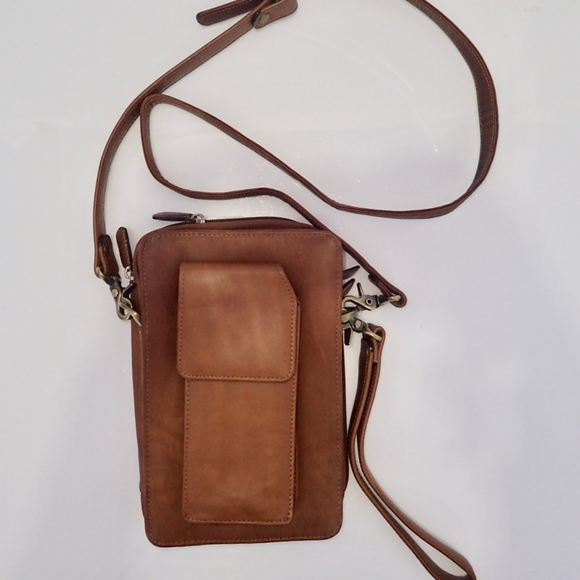 Boulder Ridge Handbags - Travel Bag BOULDER RIDGE Crossbody Bag Leather